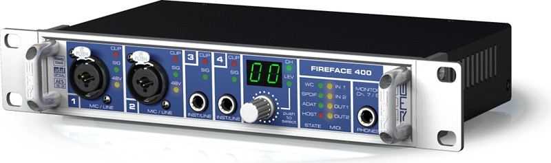 RME Fireface 400 36-Channel Firewire Audio Interface