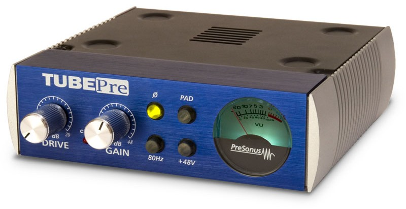 PreSonus TubePre 1 Channel Tube Preamp