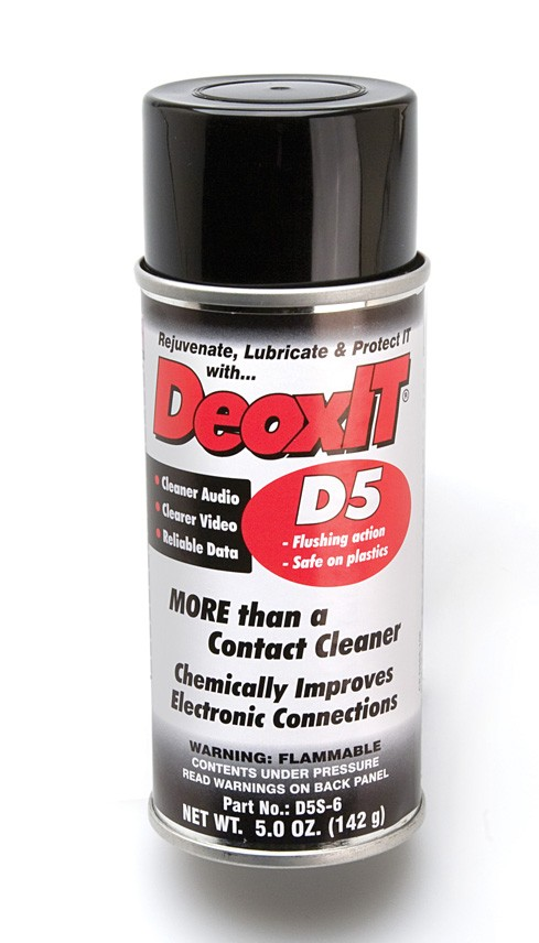 DeoxIT Contact Cleaner Spray